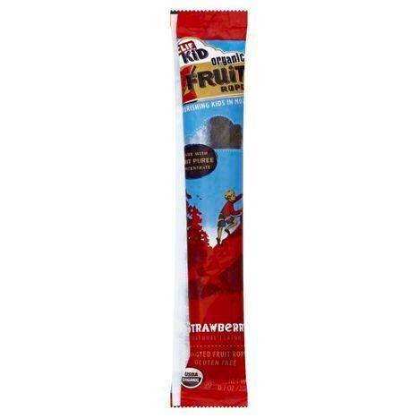 Clif Kid Fruit Rope, Organic, Twisted, Strawberry - 0.7 Ounces