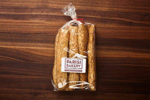 Seeded Bread Sticks (Parisi Bakery Astoria)