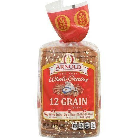 Arnold Whole Grain 12 Grain - 24 Ounces