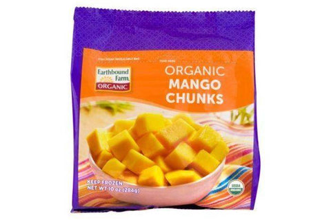 Earthbound Farm Mango Chunks, Organic - 10 Ounces