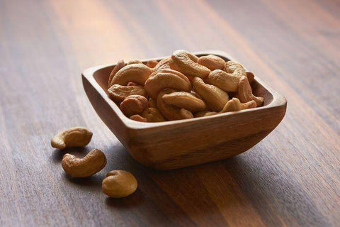 Roasted Unsalted Cashews, Container