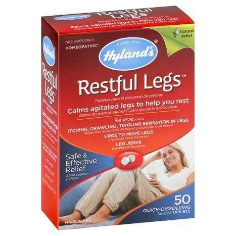 Hylands Restful Legs, Quick-Dissolving Tablets - 50 Each