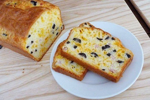 Ham Cheese Olive Bread