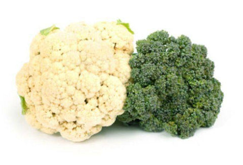 Broccoli & Cauliflower Chopped (Store Packaged)