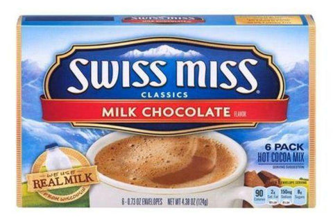 Swiss Miss Classics Hot Cocoa Mix Milk Chocolate - 6 Count