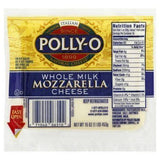 Polly O Cheese, Mozzarella, Whole Milk - 1 Pound