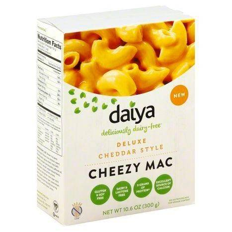 Daiya Cheezy Mac, Deluxe, Cheddar Style - 10.6 Ounces