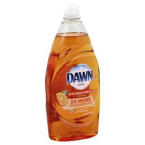 Dawn Ultra Dishwashing Liquid, Antibacterial Hand Soap, Orange Scent - 28 Ounces