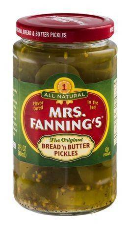 Mrs Fannings Pickles, Bread & Butter, The Original - 12 Ounces