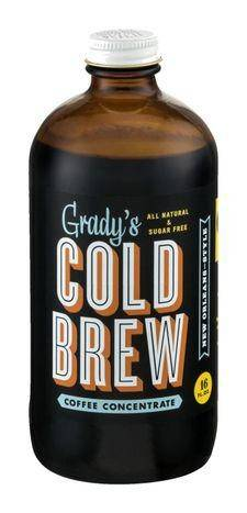 Grady's Cold Brew Coffee Concentrate - 16 Fluid Ounces