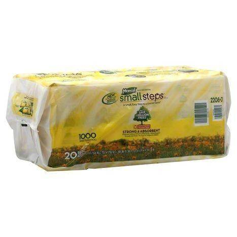 Marcal Small Steps Bath Tissue Rolls, One-Ply - 20 Each