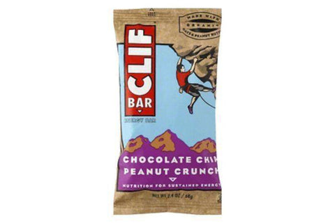 Clif Energy Bar, Chocolate Chip Peanut Crunch - 2.4 Ounces