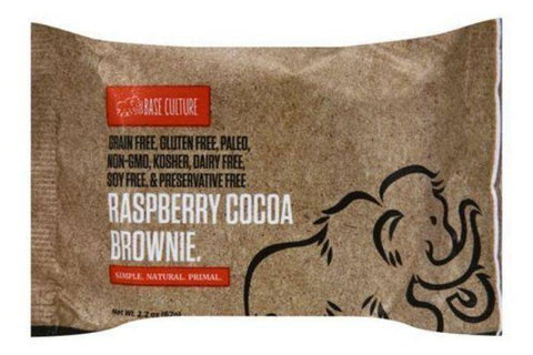 Base Culture Brownie, Raspberry Cocoa - 2.2 Ounces