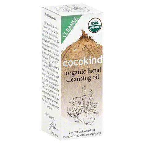 Cocokind Facial Cleansing Oil, Organic - 2 Ounces