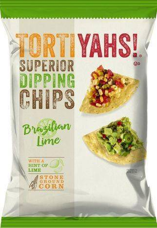 Tortiyahs Superior Dipping Lime Chips - 12.5 Ounces