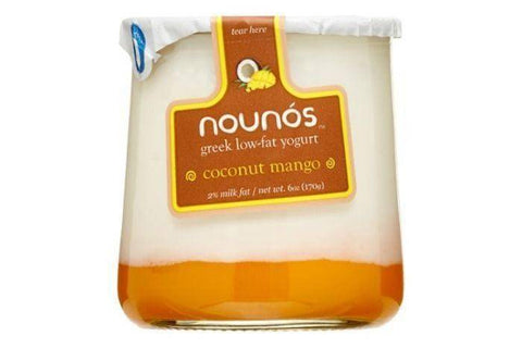 Nounos Coconut Mango Greek Yogurt - 5.3 Ounces