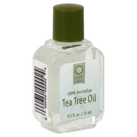 Desert Essence Tea Tree Oil, 100% Australian - 0.5 Ounces