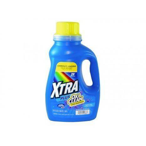 Xtra Plus OxiClean Liquid Crystal Clean Detergent - 51 Fluid Ounces