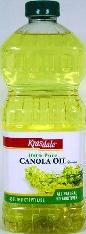 Krasdale Canola Oil - 48 Fluid Ounces