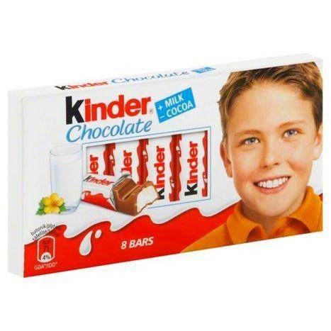 Kinder Milk Chocolate - 8 Each