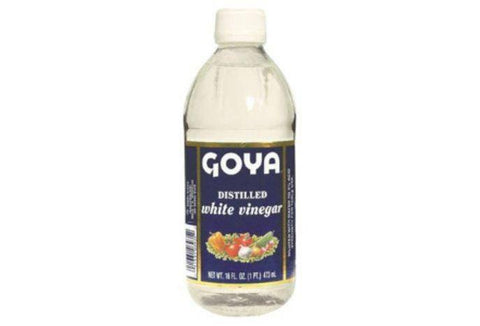 Goya Vinegar, White, Distilled - 16 Ounces