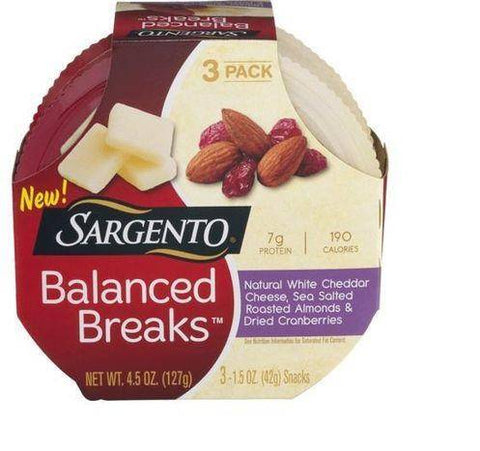 Sargento Balanced Breaks Cheese Snacks - 3 Count