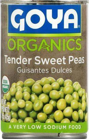 Goya Foods Low Sodium Green Pigeon Peas - 15 Ounces