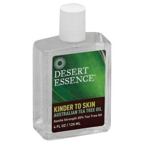 Desert Essence Tea Tree Oil, Australian, Kinder to Skin - 4 Ounces
