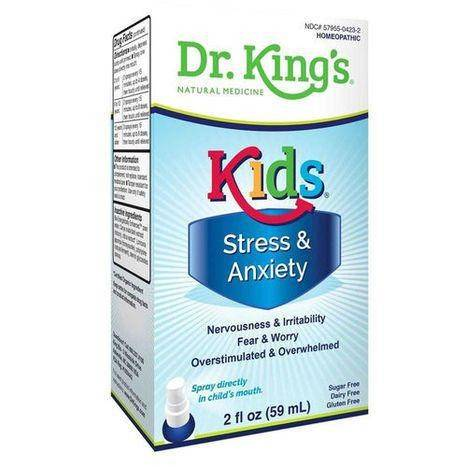 Dr. King's Kids Stress and Anxiety Spray - 2 Fluid Ounces