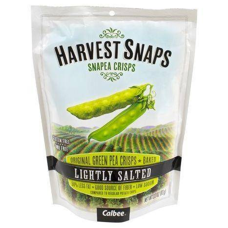 Harvest Snaps Snapea Crisps, Lightly Salted - 3.3 Ounces