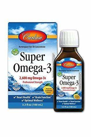 Carlson Labs Norweigan Super Omega-3 - 3.3 Fluid Ounces