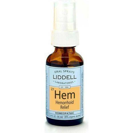 Liddell Laboratories Hemorrhoid Relief Oral Spray - 1 Ounce