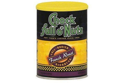 Chock Full O Nuts French Roast Ground Coffee - 10.3 Ounces