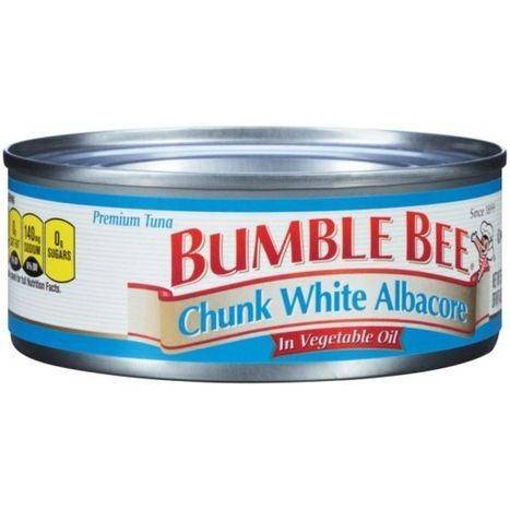 Bumble Bee Premium Chunk White Albacore in Vegetable Oil Tuna - 5 Ounces