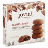 Jovial Cookies, Chocolate, Chocolate Cream Filled, Organic - 6 Each
