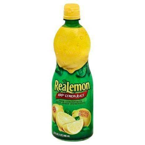 ReaLemon 100% Juice, Lemon - 32 Ounces