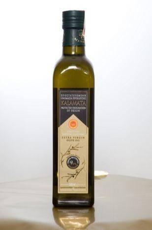 Messinia Union Kalamata PDO EVOO 500ml Glass Bottle