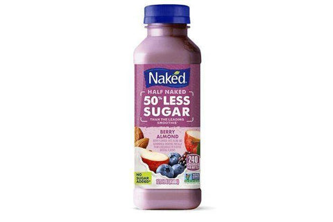 Naked Half Naked Berry Almond Juice - 15.2 Ounces