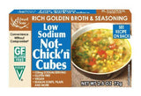 Edward & Sons Not-Chick'n Cubes, Low Sodium - 2.5 Ounces