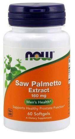 Now Foods Saw Palmetto Extract 160 mg - 60 Softgels