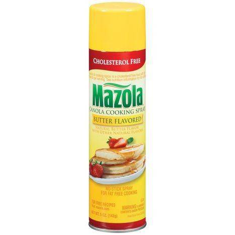 Mazola Canola Butter Cooking Spray - 5 Ounces