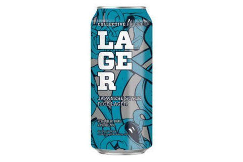 Collective Arts Japanese Rice Lager Beer - 16 Fluid Ounces