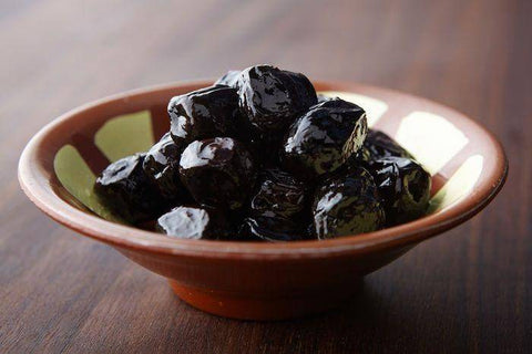 Black Moroccan Olives, 1 Pound