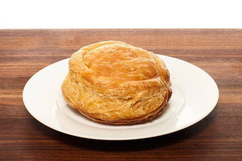 Round Cheese Pie in Puff Pastry