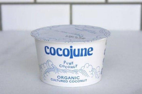 Cocojune Organic Cultured Coconut Pure Coconut Yogurt - 16 Ounces