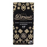 Divine Dark Chocolate with Almonds Bar - 3 Ounces