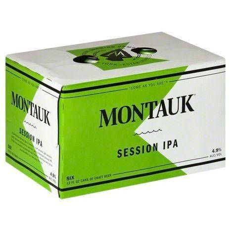 Montauk Beer, Craft, Session IPA - 6 Each