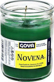 Goya 50 Hours Green Novena Candle