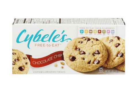 Cybeles Cookies, Vegan & Gluten-Free, Chocolate Chip - 6 Ounces