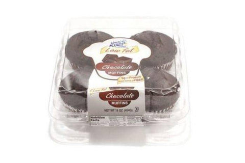 Uncle Wallys 4 Pack Chocolate Chip Muffins - 16 Ounces